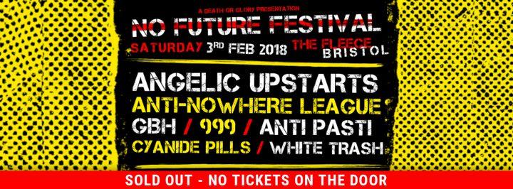 No Future 2: Angelic Upstarts / Anti-Nowhere League / GBH / 999 + more