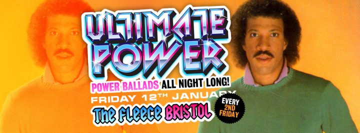 Ultimate Power – Power Ballads Club Night