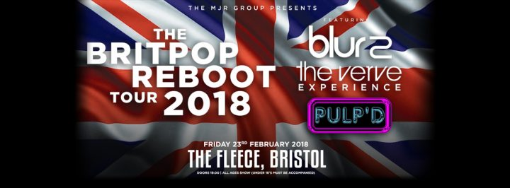 The Britpop Reboot Tour 2018