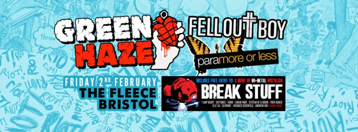 Green Haze / Fell Out Boy / Paramore (Or Less)