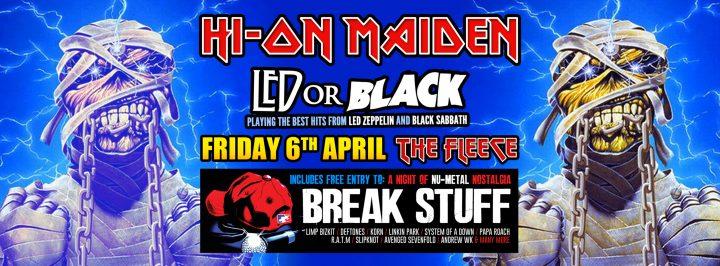 Hi On Maiden / Led Or Black
