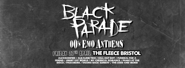 Black Parade – 00's Emo Anthems at The Fleece