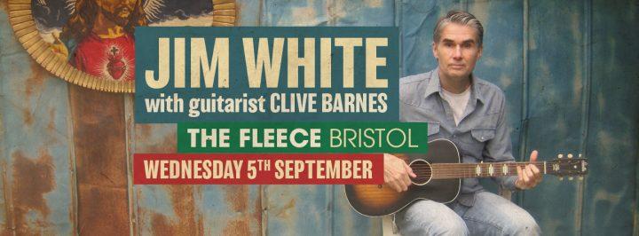 Jim White with guitarist Clive Barnes