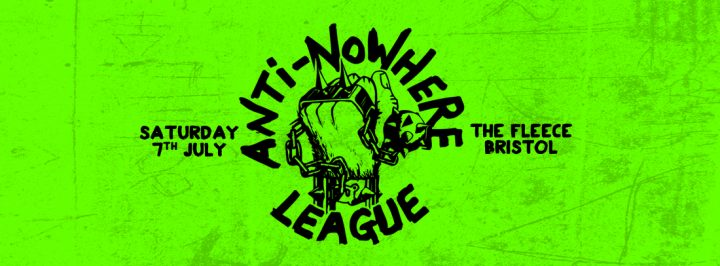 Anti-Nowhere League + Very Special Guests