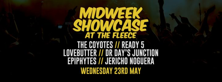The Coyotes + Ready 5 + Lovebutter + Dr Days Junction + Epiphytes + Jericho Nogeura