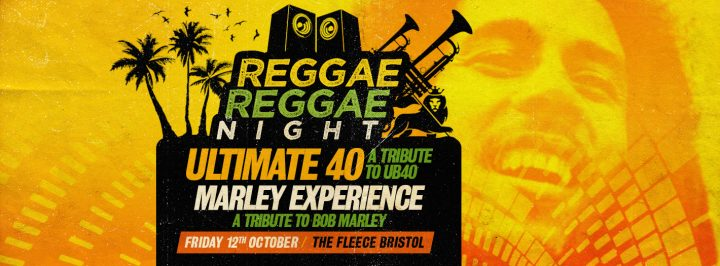 Reggae Reggae Night! – Ultimate 40 (UB40 Tribute) + The Marley Experience