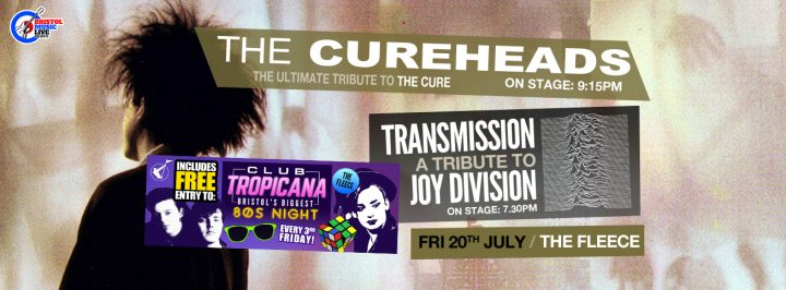 The Cureheads plus Transmission