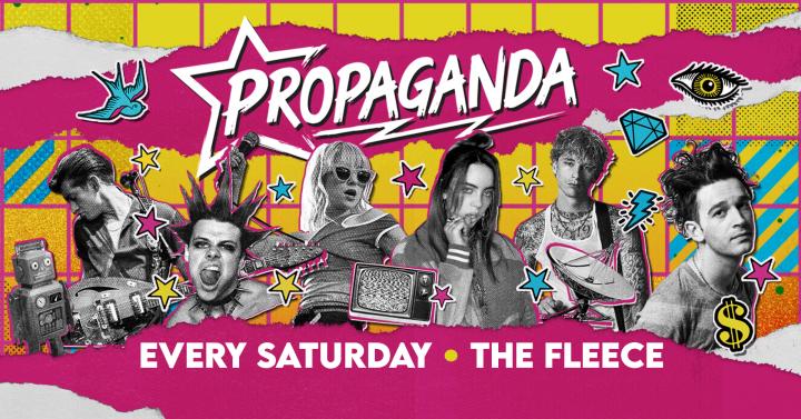 Propaganda Bristol! Pop Goes Punk Party!