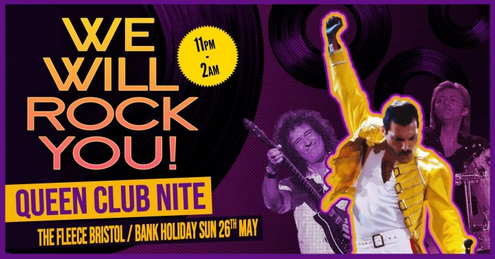 We Will Rock You Queen Club Night