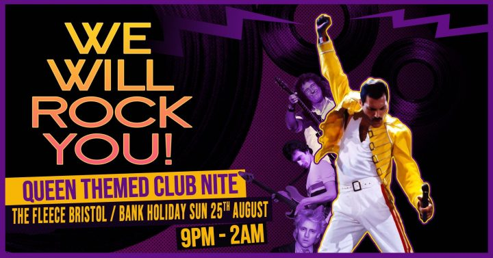 We Will Rock You – Queen Club Night