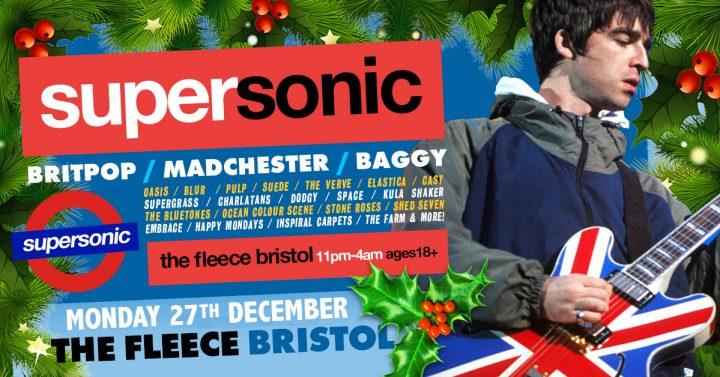 Supersonic Britpop Club Night Xmas Special