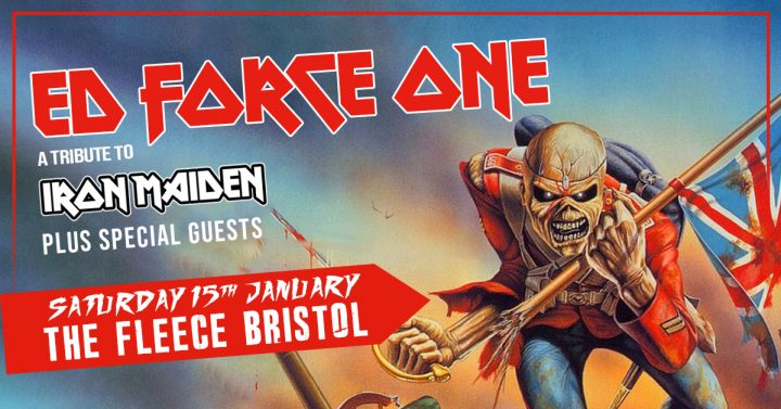 Ed Force One (Iron Maiden tribute)